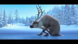 Олень на льду хуже коровы! Cow on ice. Смешной мультфильм! Смотреть всем!
