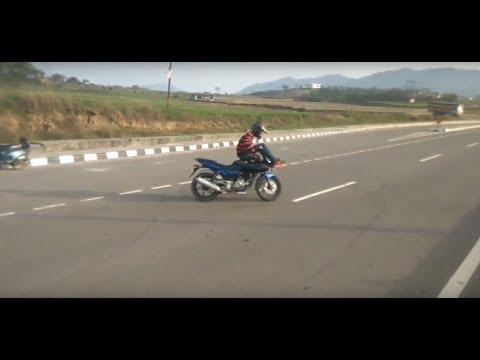 Dangerous Pulsar 220 Stunts | Bike Stunts 2017 | India Got Talent | Talentdunia