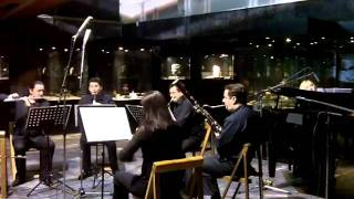 Risto Avramovski - BIRDS for wind quintet & piano (abstract)