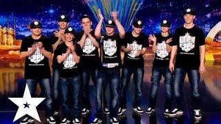 Синхронный танец от коллектива Un Ex Feel - Україна має талант-6 - Кастинг в Днепропетровске(Коллектив Un Ex Feel танцует на кастинге