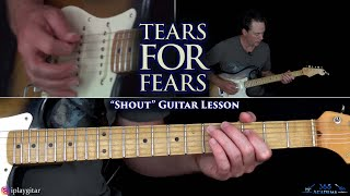 Tears For Fears - Shout Guitar Lesson