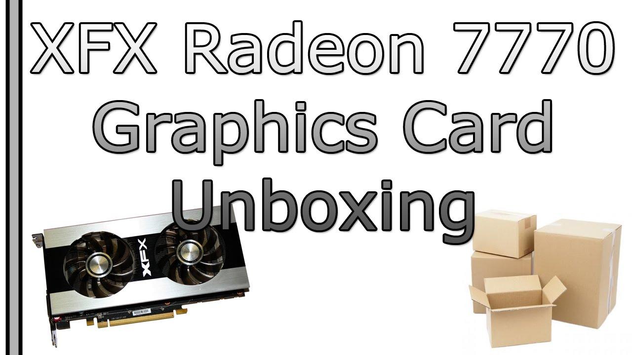 XFX ATI Radeon HD 7770 Double D Edition Graphics Card ...