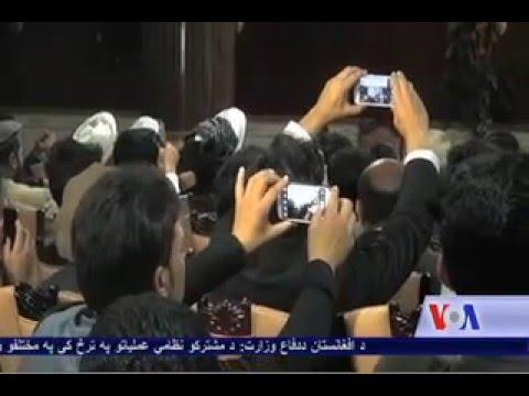 Karzai reacts to John Kerry comments on NUG - VOA Ashna