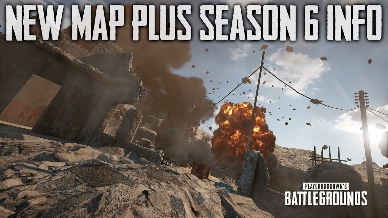 PUBG New Map and Season 6 Info (Playerunknown's Battlegrounds) thumbnail