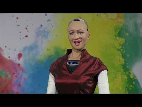Sydney Digital Marketing ADMA Global Forum Interview With The Worlds 1st Humanoid Robot Sophia