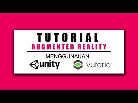 Tutorial augmented reality menggunakan unity dan vuforia #1