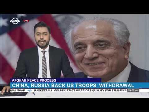 Zalmay Khalilzad hails consensus between Beijing, Moscow and Washington