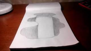 3D рисунки карандашом для новичков(Домашние рисунки карандашом., 2016-10-09T12:46:12.000Z)