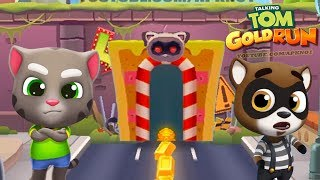 Talking Tom Gold Run Android Gameplay - Talking Tom HD #1