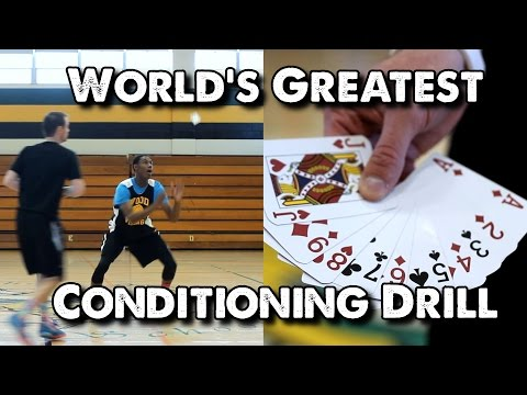 World's Greatest Conditioning Drill for Basketball: Card Catch