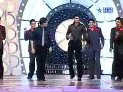 Chak De    Sreesanth Dance On Darde e Disco  with sharukh khan