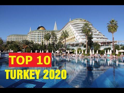 TOP 10 BEST 5 STAR HOTELS TURKEY 2020.