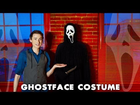GhostFace SCREAM Costume Feature - Behind The Scenes Of StabMovies.com - Custom Ghostface Robe