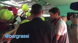 Stan Wawrinka signing autographs Monte Carlo 2015
