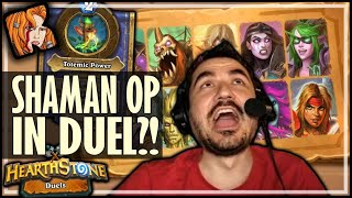 SHAMAN IS INSANE IN DUEL MODE! - Hearthstone Duels