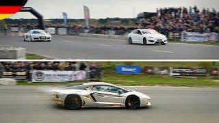 DRAG RACES: Tesla gegen Audi R8 und ich fahr jetzt Lamborghini AVENTADOR?