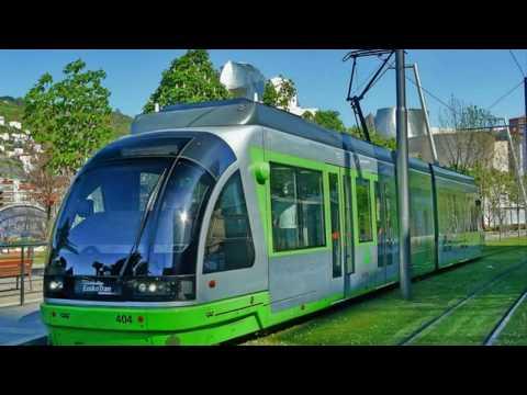 """Bilbao """"El Tranvía"""" -""""Euskotren Tranbia"""" Staniscaster"""