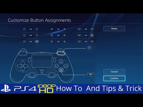 How To Customize PS4 Buttons Assignments Accessibility Options PS4 2.5 Tips