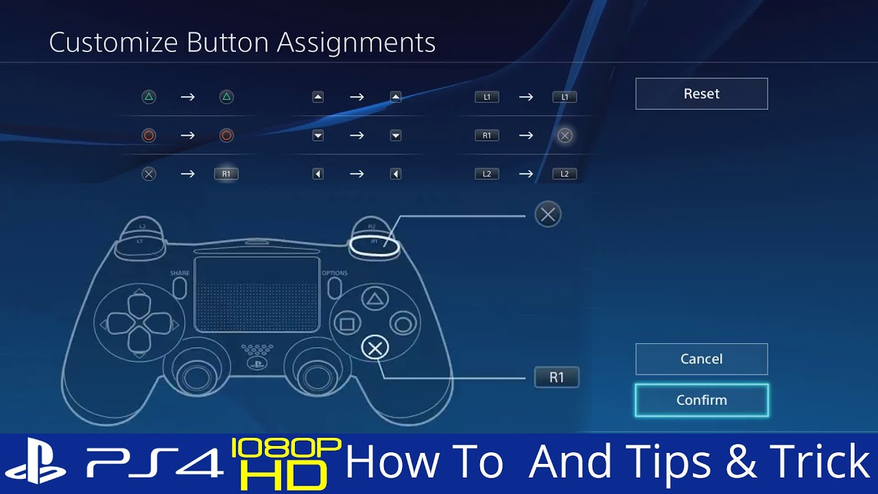 ps4 options button