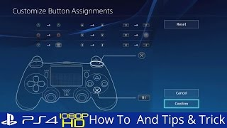 How To Customize PS4 Buttons Assignments Accessibility Options PS4 2.5 Tips thumbnail