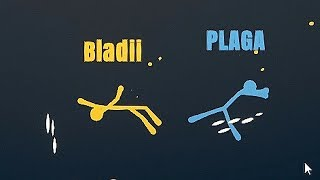 PLAGA MI PRZYWALIŁ | Stick Fight: The Game [#13] (With: EKIPA) | BLADII