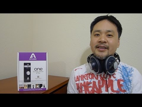 First Look: Apogee ONE For IPad & IPhone