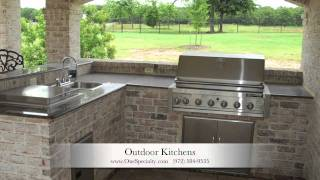 Outdoor Kitchens Designs Mckinney