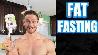 What is Coconut Oil Fasting? Fat Fasting as a Diet Reset