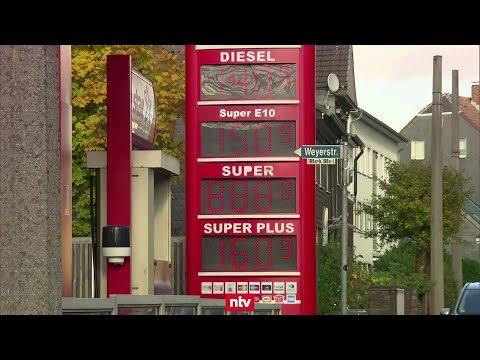 Hohe Benzinpreise Dämpfen Deutschen Konsum