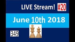 Chess to Impress LiveStream #20 on lichess.org