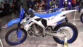 2015 TM Racing MX300 Motocross Bike - Walkaround - 2014 EICMA Milan Motorcycle Exhibition