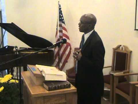 Elder Alston Anderson sermon: Trust In An Unchanging God. 01-29-11.