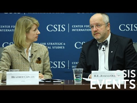 Statesmen's Forum: H.E. Juozas Olekas, Minister of National Defense, Republic of Lithuania