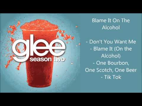 Glee - Blame It On The Alcohol songs compilation - Season 2