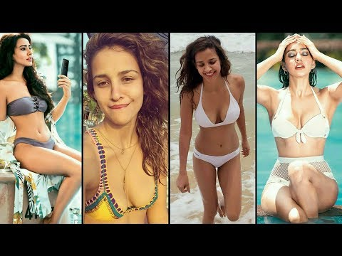 Hot and spicy Sharma sisters Neha and Aisha navel compilation  | Neha sharma | Aisha Sharma