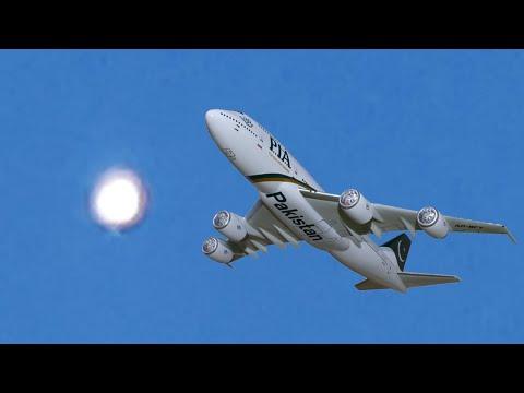 巴基斯坦飞行员拍到闪亮的UFO(图/视频)