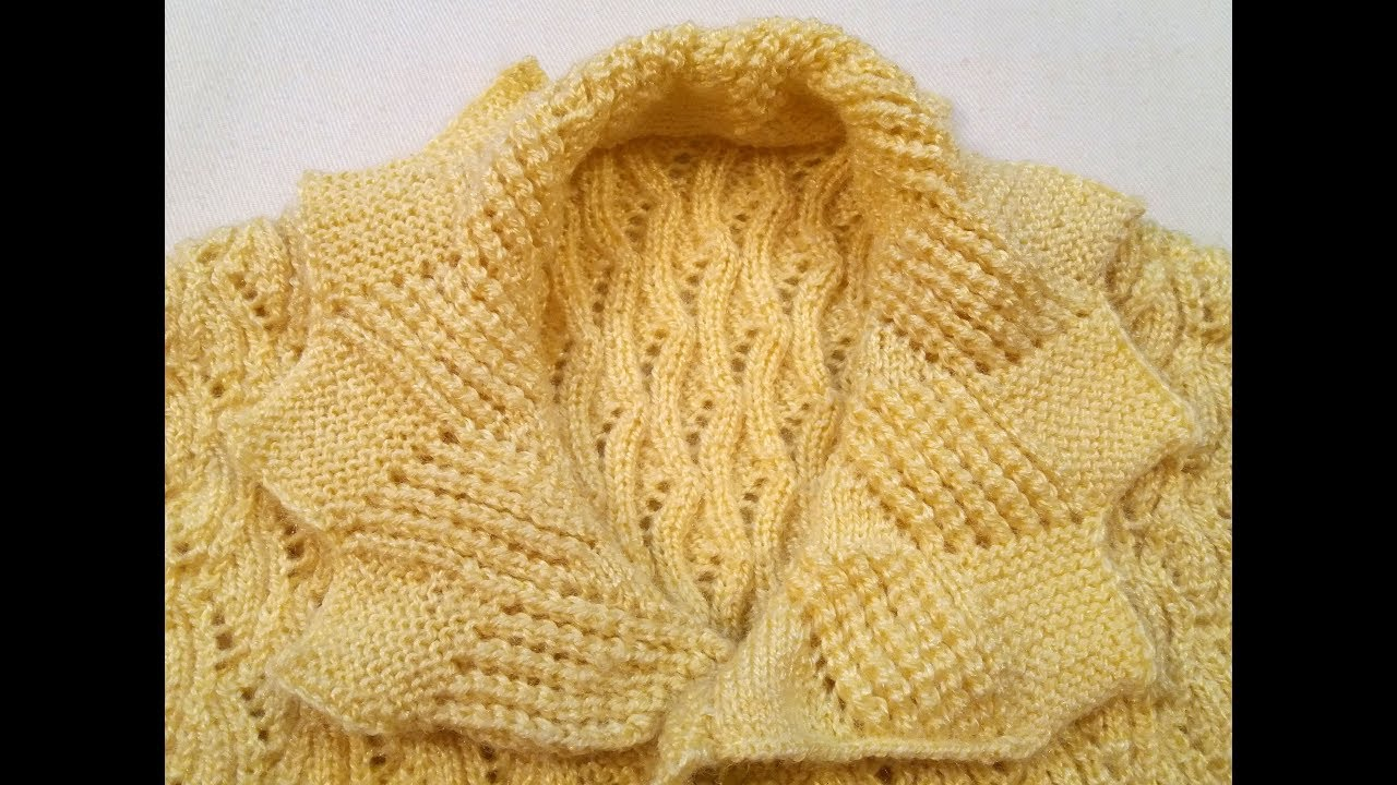 0ff0ff7e5350 Sweater Collar!! Knitting   Creation
