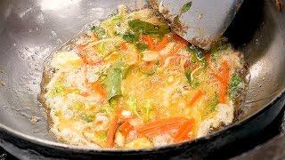 Bangkok Omelette Rice - Thai street food