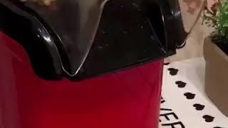 가정용 팝콘 기계 팝콘메이커 레트로 미니 팝콘제조기