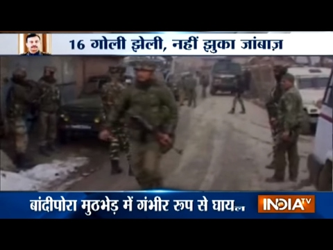 CRPF Commandant Chetan Chitah critical after Bandipore encounter