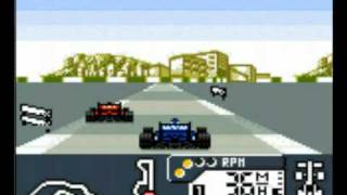 F1 World Grand Prix (Game Boy) Gameplay
