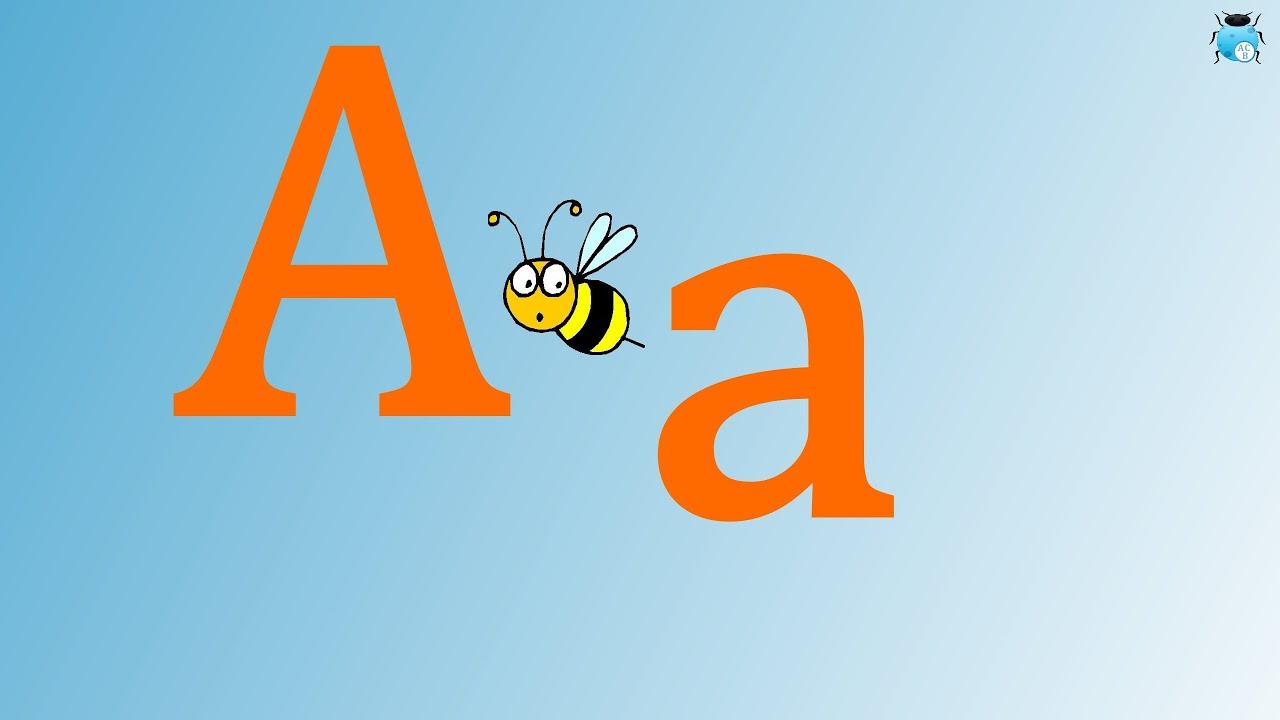 lettre a apprendre l 39 alphabet fran ais pour enfants youtube. Black Bedroom Furniture Sets. Home Design Ideas