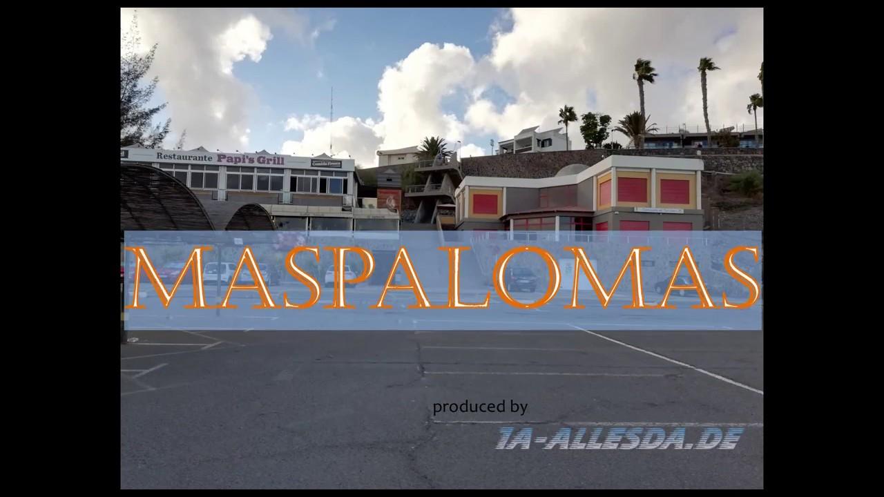 Maspalomas - Gran Canaria im Oktober 2018