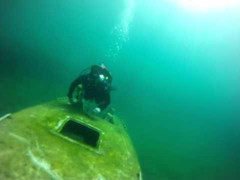 Diving in Gilboa Quarry Ohio 3