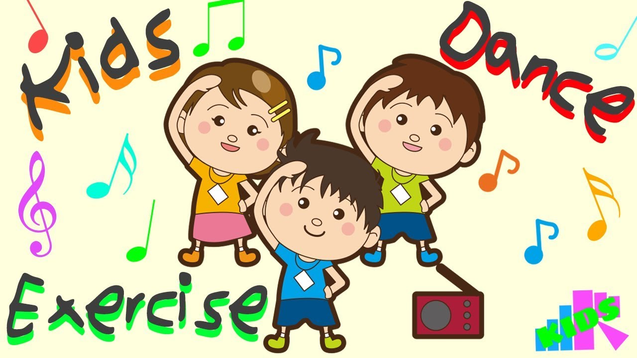 Kids Fun Dance Exercise And Dance For Kids Cute Dance For Children Erfr Cute Animation Youtube