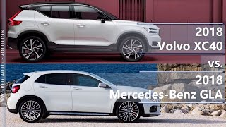 2018 Volvo XC40 vs 2018 Mercedes-Benz GLA (technical comparison)