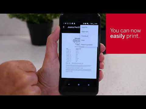 Printing From Android Default Print Service