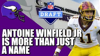 Why Antoine Winfield Jr is More Than a Name 〽️〽️〽️