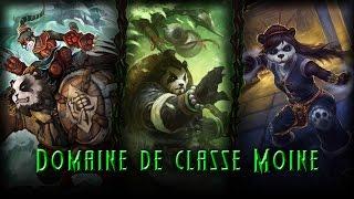 Présentation du domaine de classe du Moine dans Legion