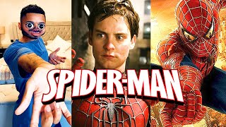 9 YEAR OLD ME AFTER WATCHING SPIDER-MAN {part 2} #Shorts